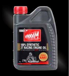 VROOAM 100% Synthetic 2T Racing Engine Oil