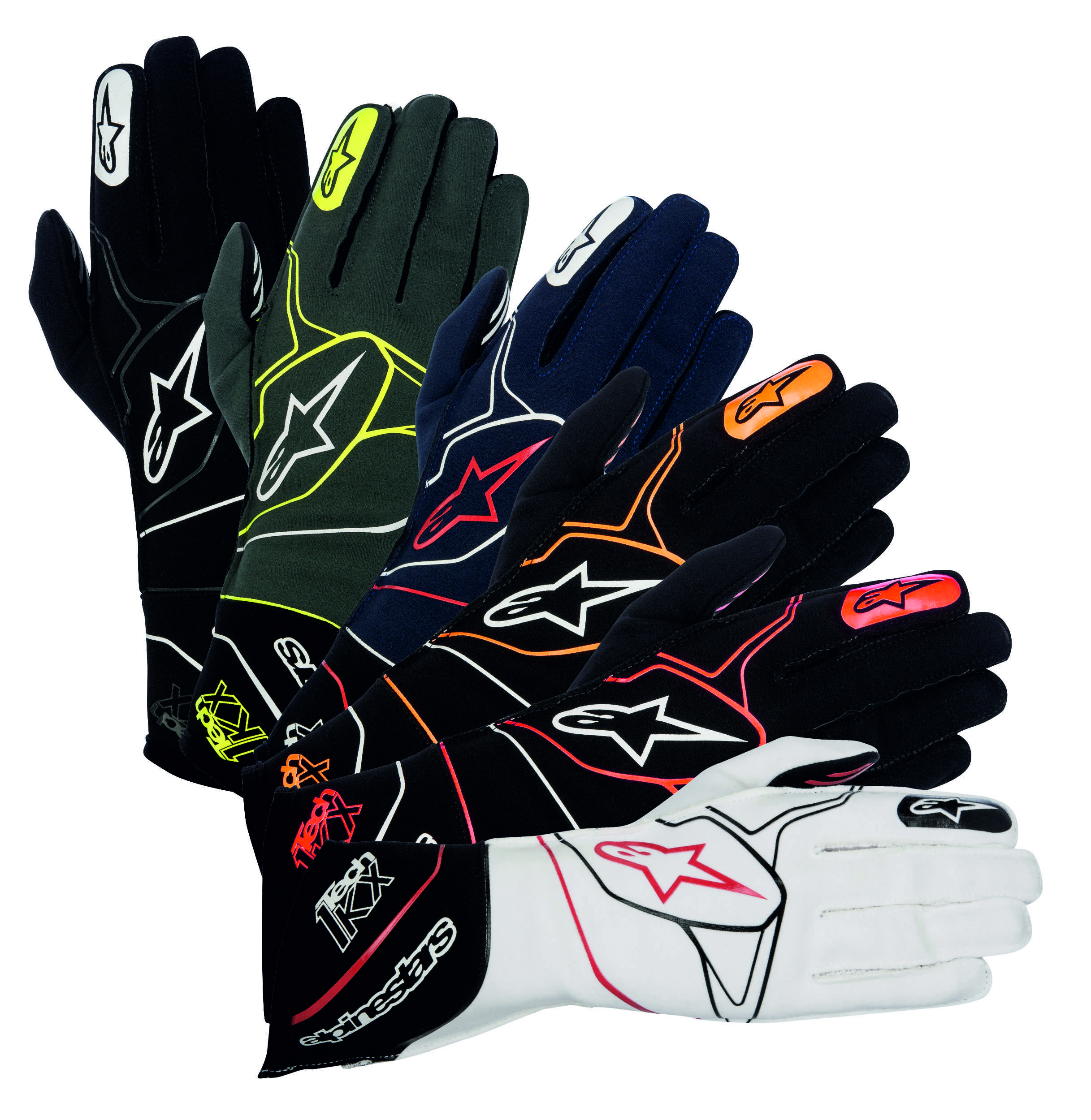 Alpinestars Rukavice Tech 1-KX